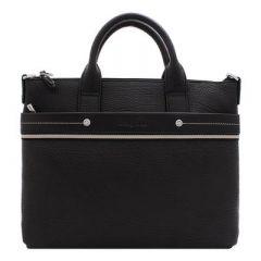 d1b19fef50e0 Портфель Delucci Калипсо кожа, черный, 1 отделение, метал. замок, с ...